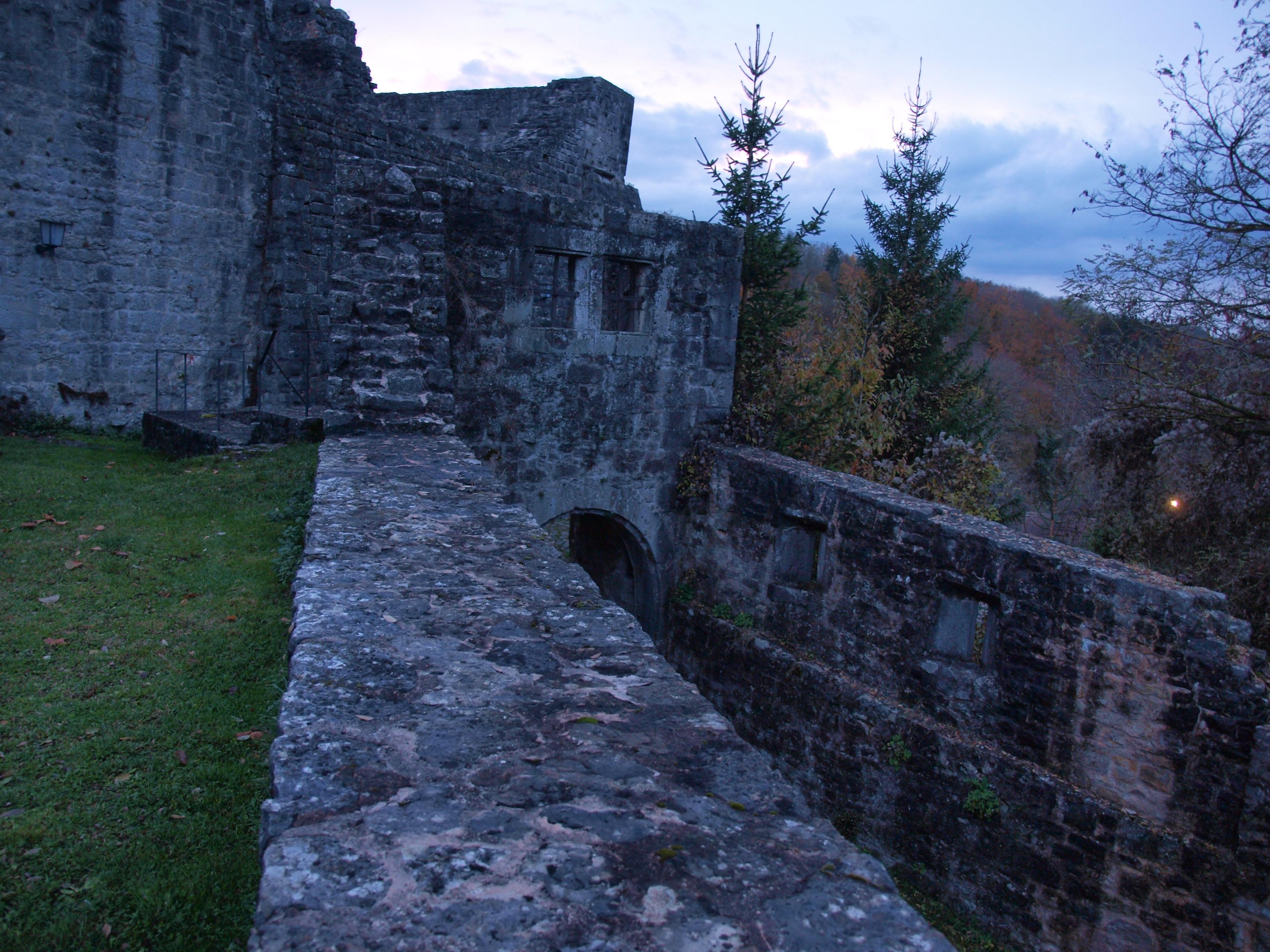 Ansicht Burgruine
