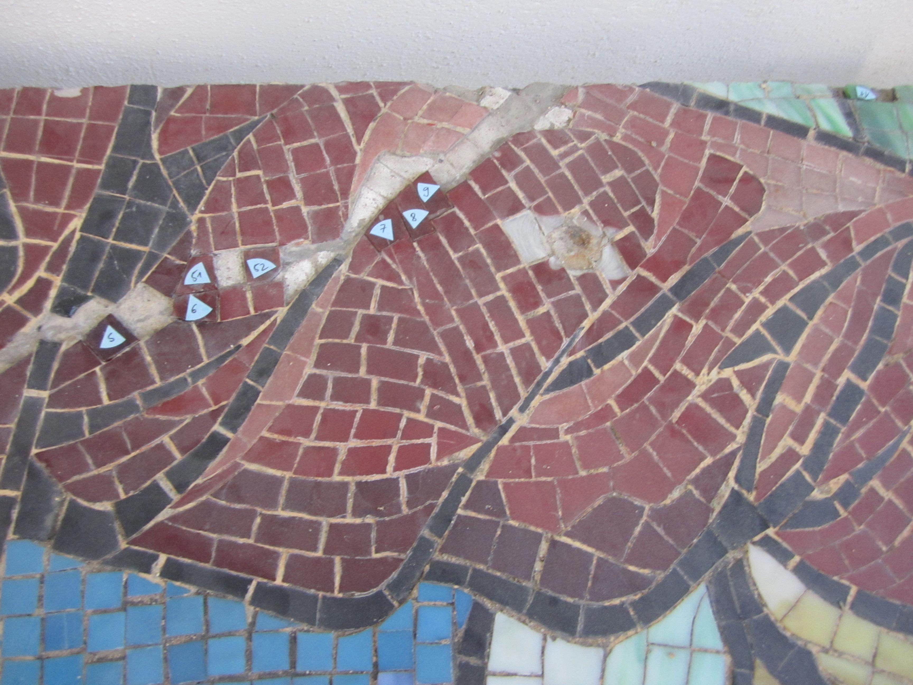 Mosaikdetail