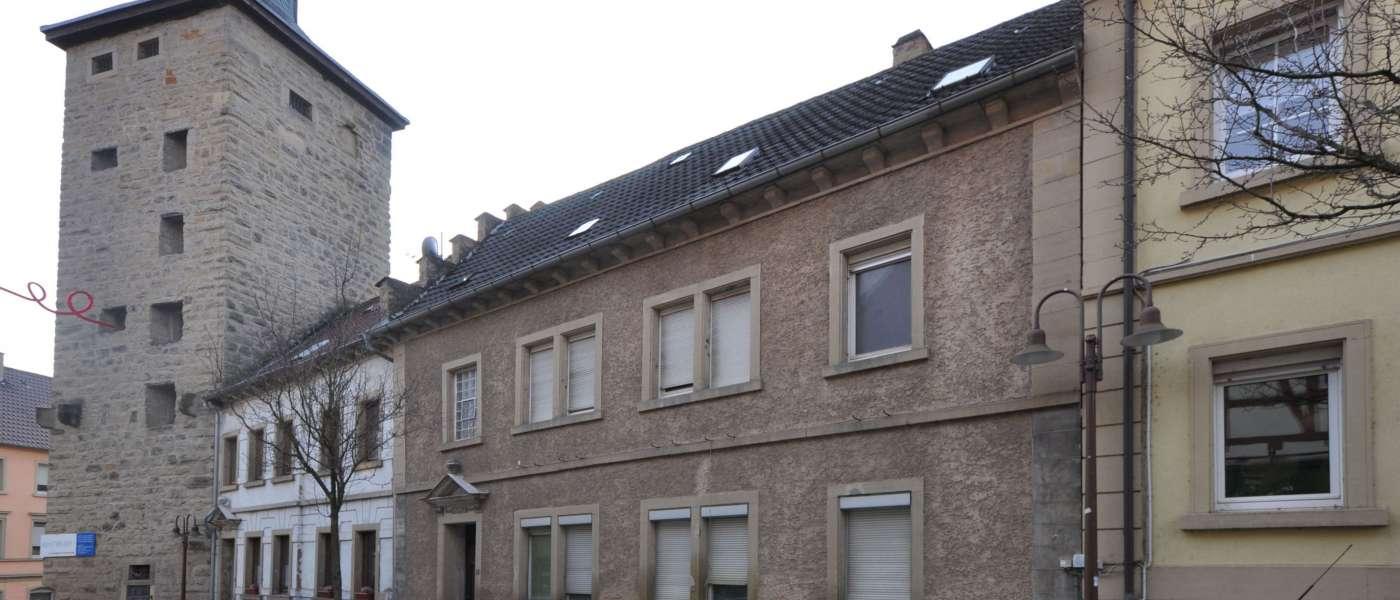 "Eppingen, ""SALVE-Häuser"" Kirchgasse 3-5"