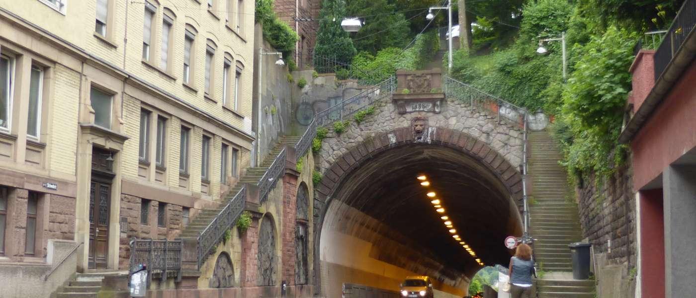 Stuttgart,Schwabtunnel