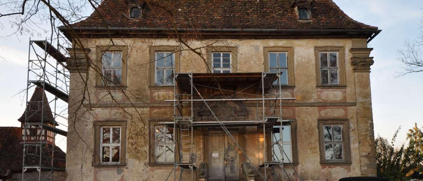 Schloss Stetten, ÄußeresHaus