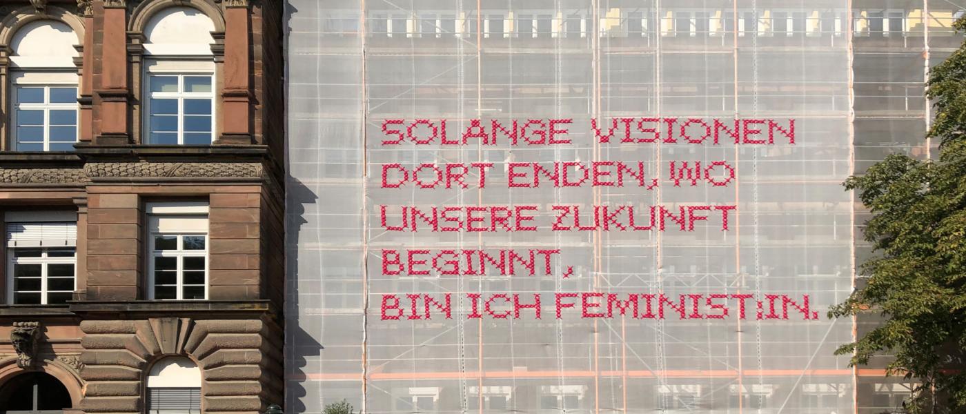 Feministische Kunst von Katharina Cibulka am Goethe-Gymnasium