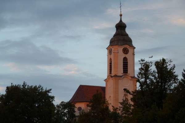 Bodnegg, Pfarrkirche St. Ulrich undMagnus