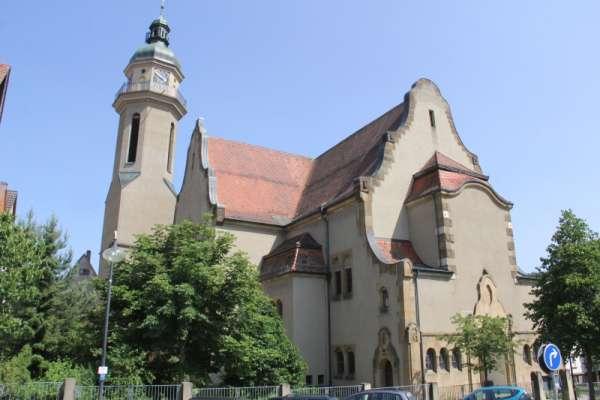 Albstadt-Ebingen, EvangelischeMartinskirche