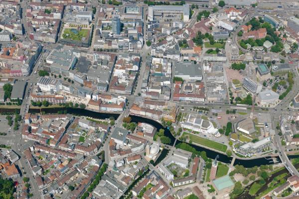 Pforzheim, Innenstadtentwicklung-Ost