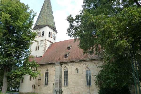 Plieningen,Martinskirche