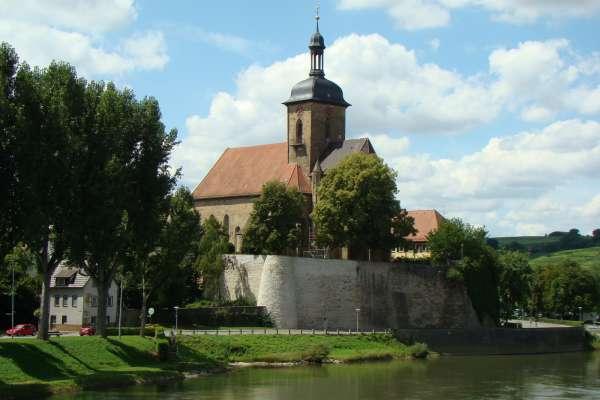Lauffen am Neckar,Regiswindiskirche